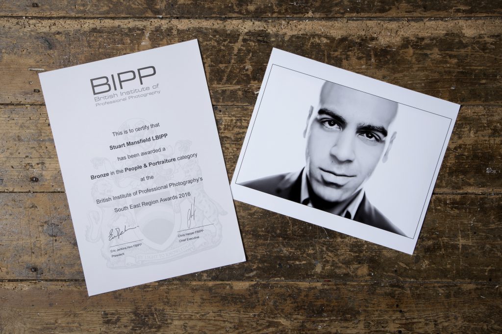 Commercial Photographer People & Portraiture Category BIPP Award
